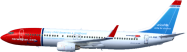Boeing 737-800 - Virtual Norwegian